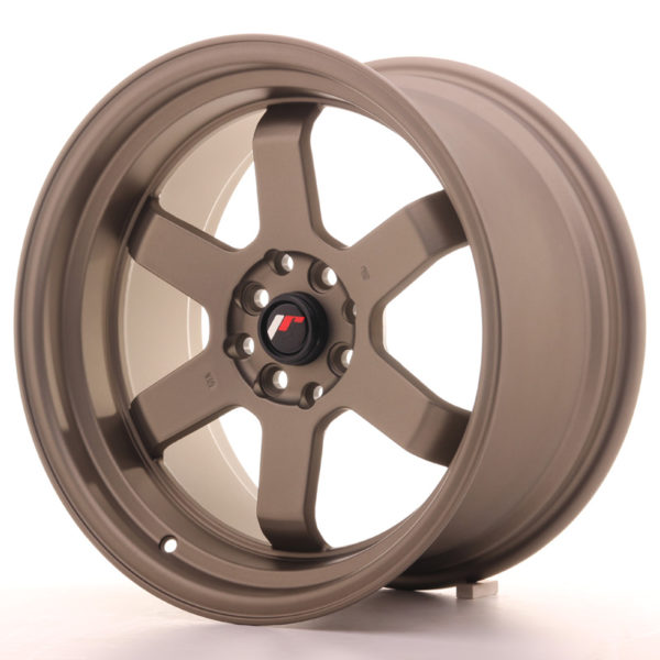 JR Wheels JR12 17x9 ET25 4x100/114 Matt Bronze
