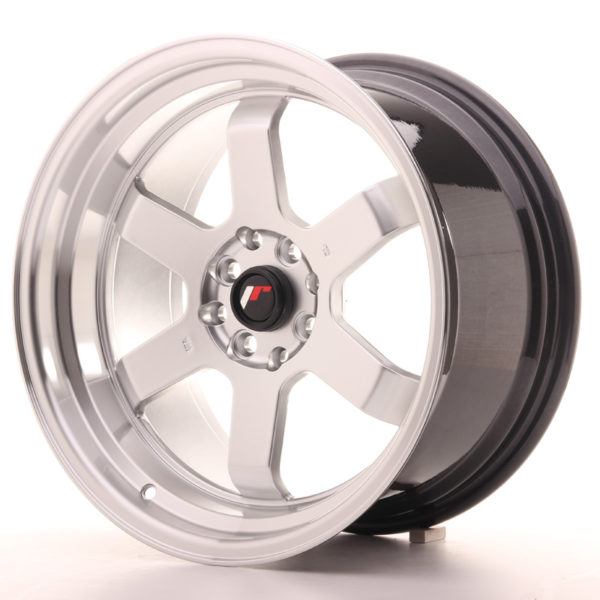 JR Wheels JR12 17x9 ET25 4x100/114 Hyper Silver w/Machined Lip