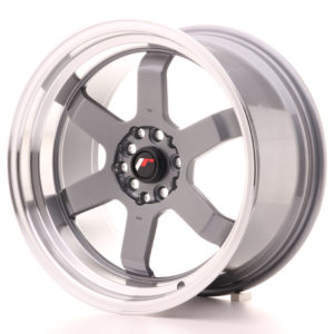 JR Wheels JR12 17x9 ET25 5x100/114 Gun Metal w/Machined Lip