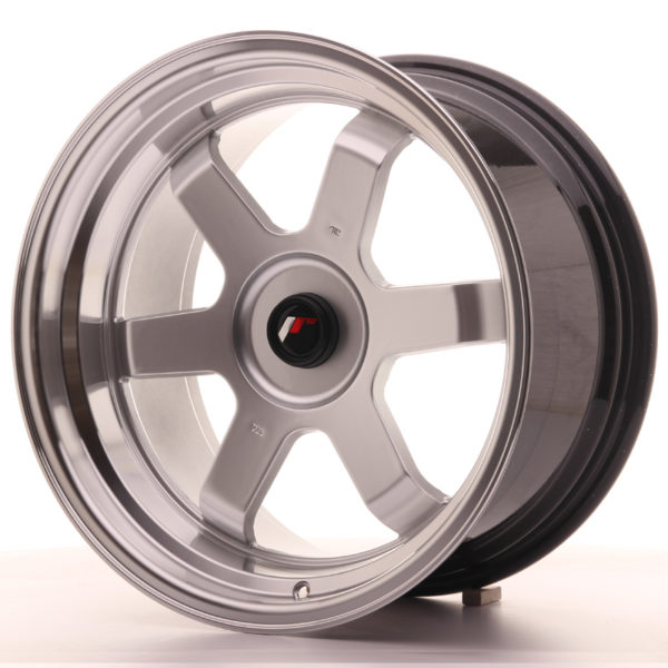 JR Wheels JR12 17x9 ET25 BLANK Hyper Silver w/Machined Lip