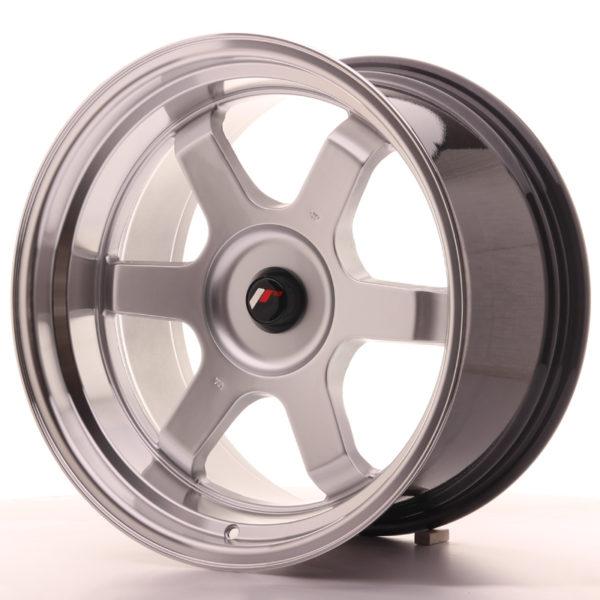 JR Wheels JR12 18x10 ET20-22 BLANK Hyper Silver w/Machined Lip