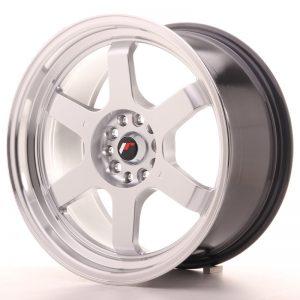 JR Wheels JR12 18x9 ET30 5x112/114,3 Hyper Silver w/Machined Lip