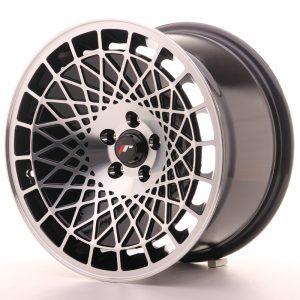 JR Wheels JR14 16x9 ET10 4x100 Gloss Black w/Machined Face