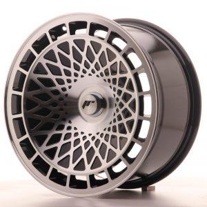 JR Wheels JR14 17x8,5 ET15 BLANK Gloss Black w/Machined Face
