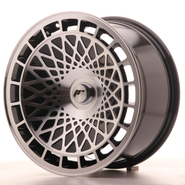 JR Wheels JR14 17x8,5 ET15 BLANK Gloss Black w/Machined Face