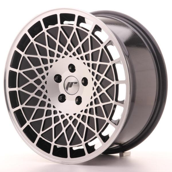 JR Wheels JR14 18x8,5 ET40 5x114,3Gloss Black w/Machined Face
