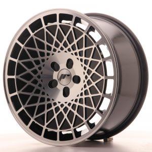 JR Wheels JR14 18x8,5 ET35-40 5H BLANK Gloss Black w/Machined Face