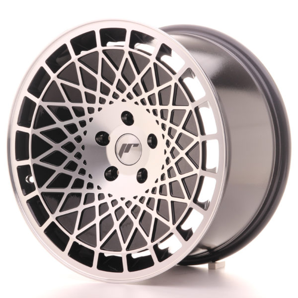 JR Wheels JR14 18x9,5 ET35 5x100 Gloss Black w/Machined Face