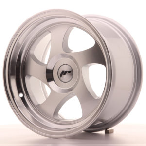 JR Wheels JR15 15x8 ET20 BLANK Silver Machined Face