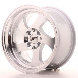 JR Wheels JR15 15x8 ET20 4x100/108 Silver Machined Face