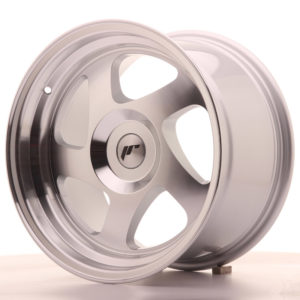 JR Wheels JR15 16x9 ET20 BLANK Silver Machined Face