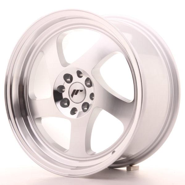 JR Wheels JR15 17x8 ET35 4x100/114 Silver Machined Face