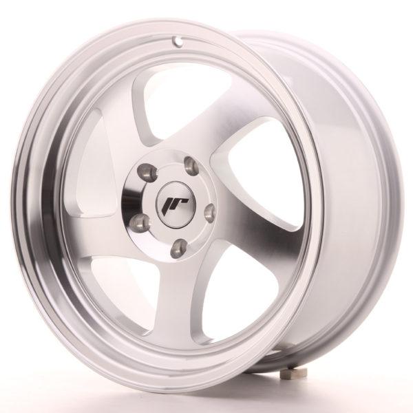 JR Wheels JR15 17x8 ET35 BLANK Silver Machined Face