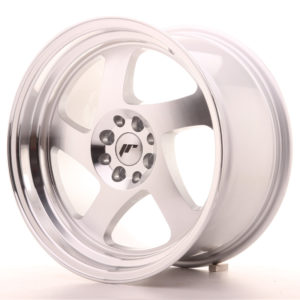JR Wheels JR15 17x9 ET25 4x100/108 Silver Machined Face