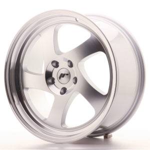 JR Wheels JR15 18x8,5 ET40 5x112 Silver Machined Face