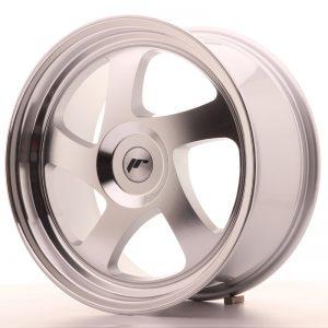 JR Wheels JR15 18x8,5 ET20-40 BLANK Silver Machined Face