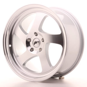 JR Wheels JR15 18x8,5 ET40 BLANK Silver Machined Face