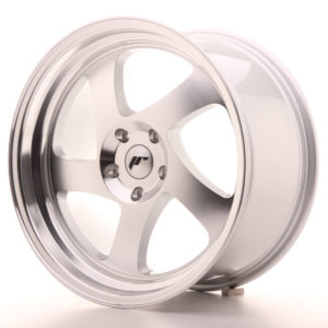 JR Wheels JR15 18x9,5 ET20-40 BLANK Silver Machined Face