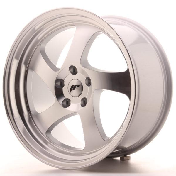 JR Wheels JR15 19x10 ET35 5x100 Silver Machined Face