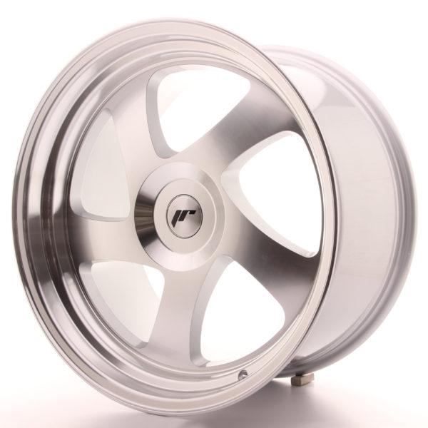 JR Wheels JR15 19x10 ET35 BLANK Silver Machined Face
