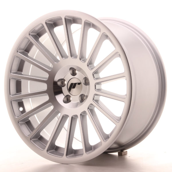 JR Wheels JR16 18x9,5 ET35 5x100 Silver Machined Face
