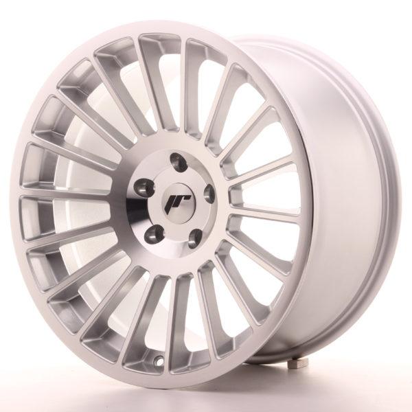 JR Wheels JR16 19x10 ET35 5x100 Silver Machined Face