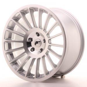 JR Wheels JR16 19x10 ET25-35 BLANK Silver Machined Face