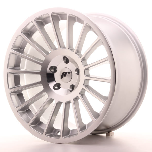 JR Wheels JR16 19x10 ET25-35 BLANK Silver Machined Face