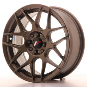 JR Wheels JR18 16x7 ET35 4x100/114,3 Matt Bronze