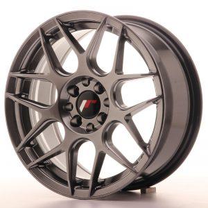 JR Wheels JR18 16x7 ET25 4x100/108 Hyper Black