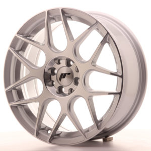 JR Wheels JR18 17x7 ET40 4x100/114 Silver Machined Face