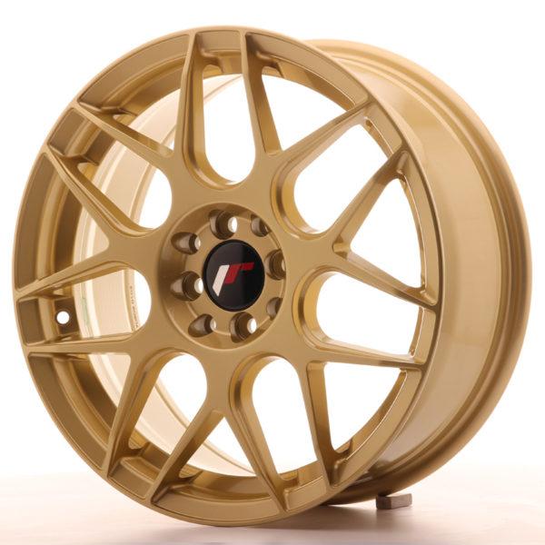 JR Wheels JR18 17x7 ET40 5x100/114 Gold