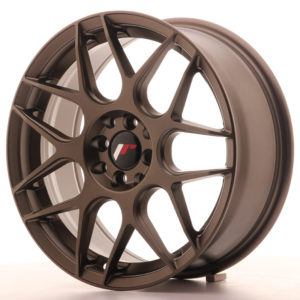 JR Wheels JR18 17x7 ET40 5x100/114 Matt Bronze
