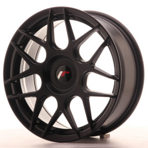 JR Wheels JR18 17x7 ET20-40 BLANK Matt Black