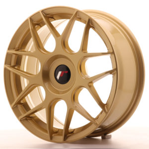 JR Wheels JR18 17x7 ET20-40 BLANK Gold