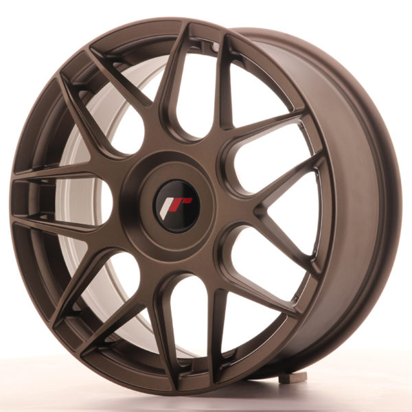 JR Wheels JR18 17x7 ET20-40 BLANK Matt Bronze