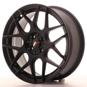 JR Wheels JR18 17x7 ET40 4x100/108 Matt Black