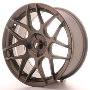 JR Wheels JR18 17x8 ET25-35 4H BLANK Matt Bronze
