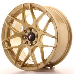 JR Wheels JR18 17x8 ET35 5x100/114 Gold