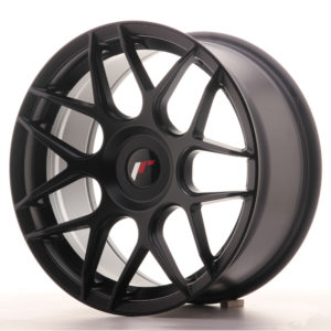 JR Wheels JR18 17x8 ET25-35 BLANK Matt Black