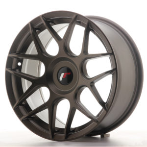 JR Wheels JR18 17x8 ET35 BLANK Matt Bronze