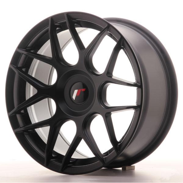 JR Wheels JR18 17x8 ET35 BLANK Matt Black