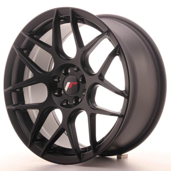 JR Wheels JR18 17x8 ET25 4x100/108 Matt Black