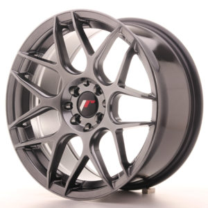 JR Wheels JR18 17x8 ET25 4x100/108 Hyper Black