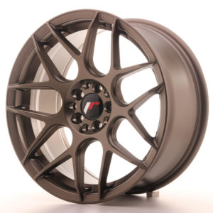JR Wheels JR18 17x8 ET25 4x100/108 Matt Bronze