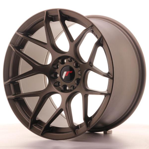 JR Wheels JR18 18x10,5 ET22 5x114/120 Matt Bronze