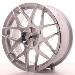 JR Wheels JR18 18x7,5 ET35-42 BLANK 5H Silver Machined Face