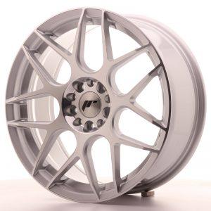 JR Wheels JR18 18x7,5 ET40 5x112/114 Silver Machined Face