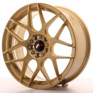 JR Wheels JR18 18x7,5 ET35 5x100/120 Gold