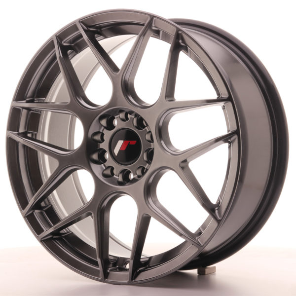 JR Wheels JR18 18x7,5 ET35 5x100/120 Hyper Black